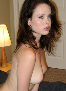 A Sultry Lana Strips Out Of Her Clothes And Waits On The Bed For You - Picture 11
