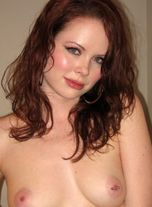 Lana Strips Naked And Shows Off Her Tight Tiny Pink Pussy - Picture 5