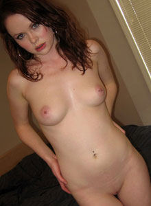 Lana Strips Naked And Shows Off Her Tight Tiny Pink Pussy - Picture 11