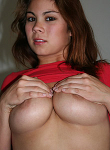 Mia Teases With Her Huge Natural Teenage Breasts - Picture 10