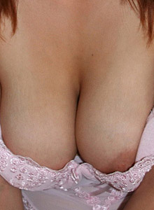 Mais Huge Perfect Tits Are Almost Falling Out Of Her Sexy Pink Outfit - Picture 9